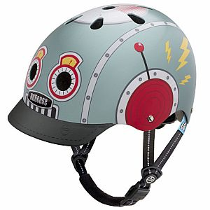 Littlt Nutty Tin Robot Helmet XS