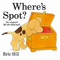 Where's Spot Lift Flap Book