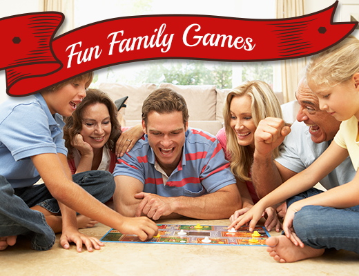 30 Fun Family Games
