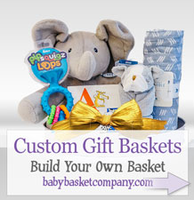 Build your own custom baby baskets